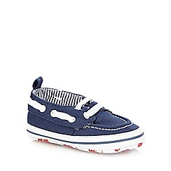 J by Jasper Conran - Baby boys' navy boat booties