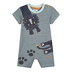 RJR.John Rocha - Baby boys' lion striped romper suit