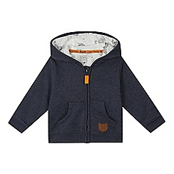 RJR.John Rocha - Baby boys' navy zip up hoodie