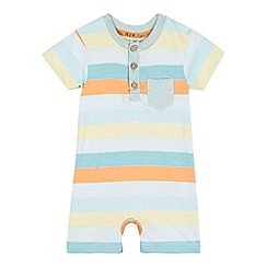 RJR.John Rocha - Baby boys' striped jersey romper suit