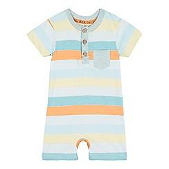 RJR.John Rocha - Baby boys' striped jersey romper suit