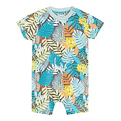 RJR.John Rocha - Baby boys' blue jungle print romper and hat