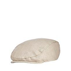 RJR.John Rocha - Baby boys' beige palm tree applique flat cap