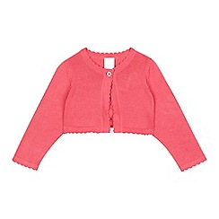 bluezoo - Baby girls' pink cardigan