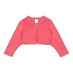 bluezoo - Baby girls' pink cardigan