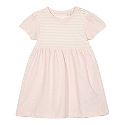 bluezoo - Baby girls' pink empire dress
