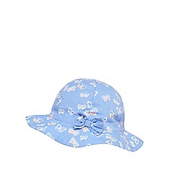 bluezoo - Baby girls' purple butterfly hat