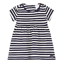 J by Jasper Conran - Baby girls' textured striped dress