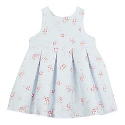 J by Jasper Conran - Baby girls' light blue floral print dress