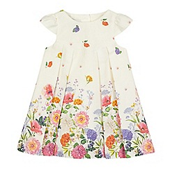 RJR.John Rocha - Baby girls' white botanical print dress
