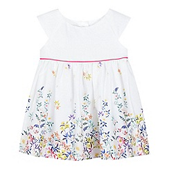 RJR.John Rocha - Baby girl's white floral dress