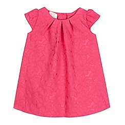 RJR.John Rocha - Baby girls  pink textured dress