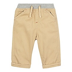 bluezoo - Baby boys' beige woven trousers