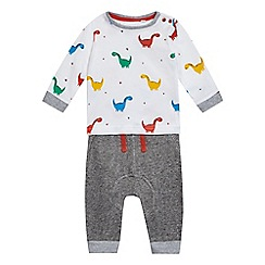bluezoo - Baby boys  multi-coloured top and joggers set