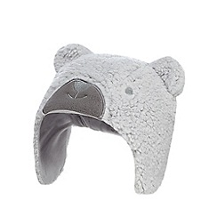 J by Jasper Conran - Grey bear fleece trapper hat