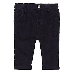 bluezoo - Baby boys' navy corduroy trousers