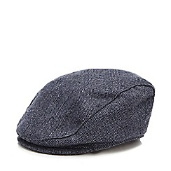 J by Jasper Conran - Babies wool blend herringbone peaked hat