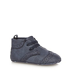 J by Jasper Conran - Baby boys' navy shoes