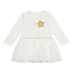 bluezoo - Baby girls' white tule dress