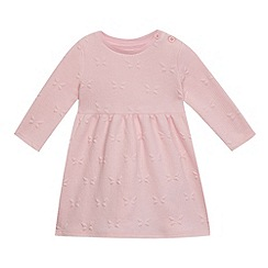 bluezoo - Baby girls  pink butterfly dress