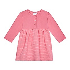bluezoo - Baby girls' pink spot print dress