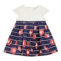 J by Jasper Conran - Baby girls' multi-coloured floral print dress