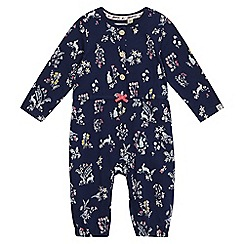Mantaray - Baby girls' bunny print playsuit