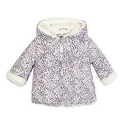 Mantaray - Baby girls' ditsy floral print jacket