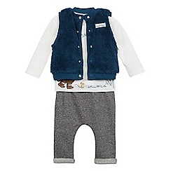 The Gruffalo - Baby girls' navy three piece 'Gruffalo' set