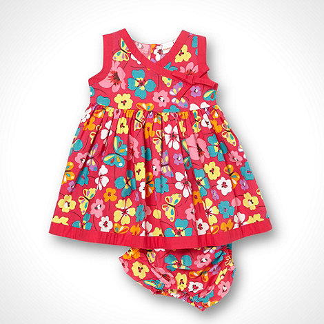 bluezoo - Girl+s pink floral dress