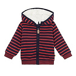 J by Jasper Conran - Baby boys' navy and red striped jacket