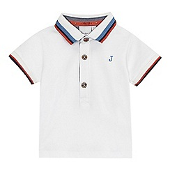 J by Jasper Conran - Baby boys' white polo shirt