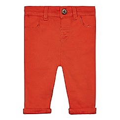 J by Jasper Conran - Baby boys' orange trousers