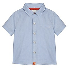 J by Jasper Conran - Baby boys' blue striped shirt