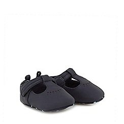 J by Jasper Conran - Baby boys' navy leather boots