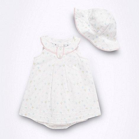 J by Jasper Conran - Designer Babies romper and hat set