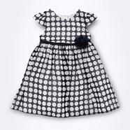 Designer Babies navy georgette dress