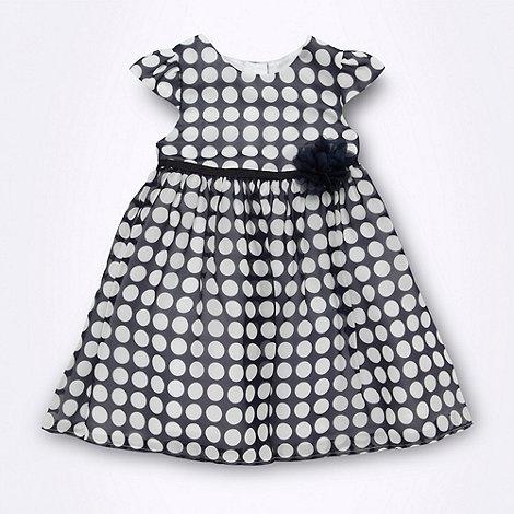 J by Jasper Conran - Designer Babies navy georgette dress