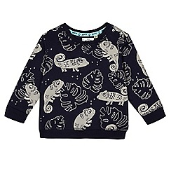 Mantaray - Baby boys' chameleon print sweater