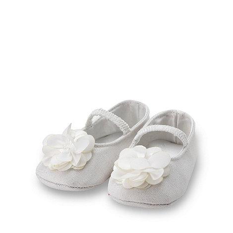 RJR.John Rocha - Designer Babies white corsage booties