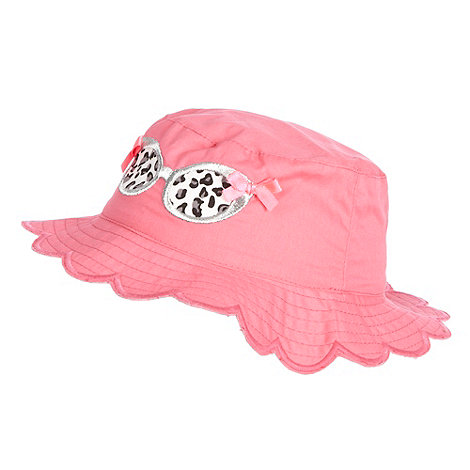 Star by Julien Macdonald - Designer Babies pink sunglasses bucket sun hat