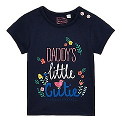 bluezoo - Baby girls' 'Daddy's Little Cutie' t-shirt