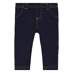 bluezoo - Baby girls' navy jeggings