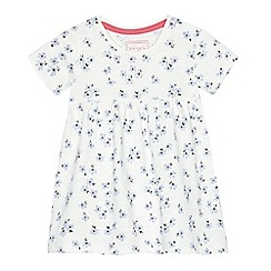 bluezoo - Baby girls' white daisy print dress