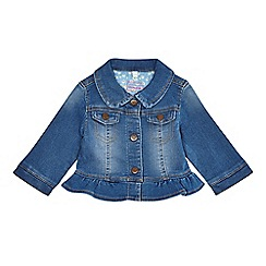 bluezoo - Baby girls' blue denim jacket