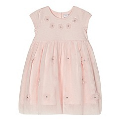 bluezoo - Baby girls' pink floral dress