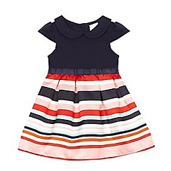 J by Jasper Conran - Baby girls' multi-coloured striped dress