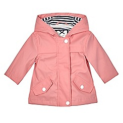 J by Jasper Conran - Baby girls' pink mac coat