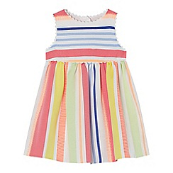 J by Jasper Conran - Baby girl's multi-coloured striped dress