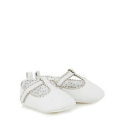 J by Jasper Conran - Baby girls' white leather boots